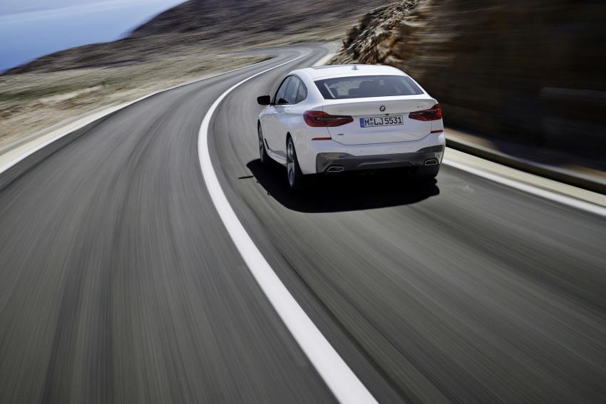 G32 BMW 6 Series Gran Turismo unveiled: more swish Image #672135