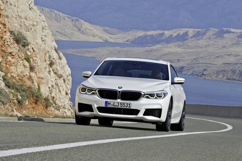 G32 BMW 6 Series Gran Turismo unveiled: more swish Image #672137