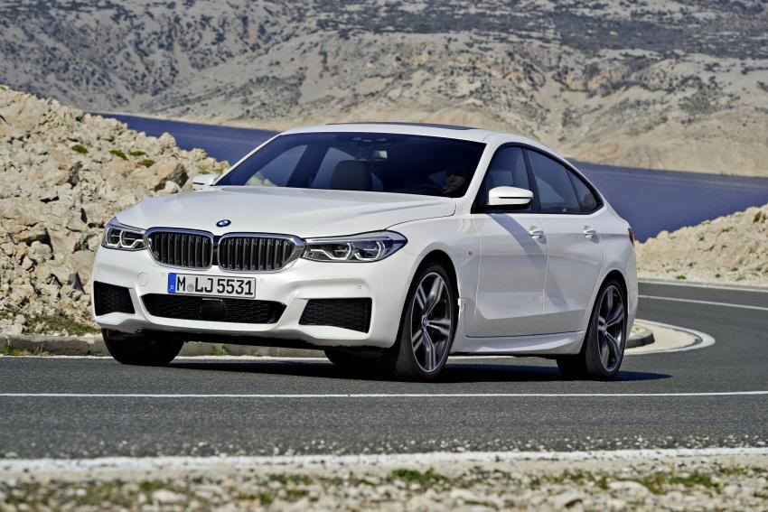 G32 BMW 6 Series Gran Turismo unveiled: more swish Image #672138