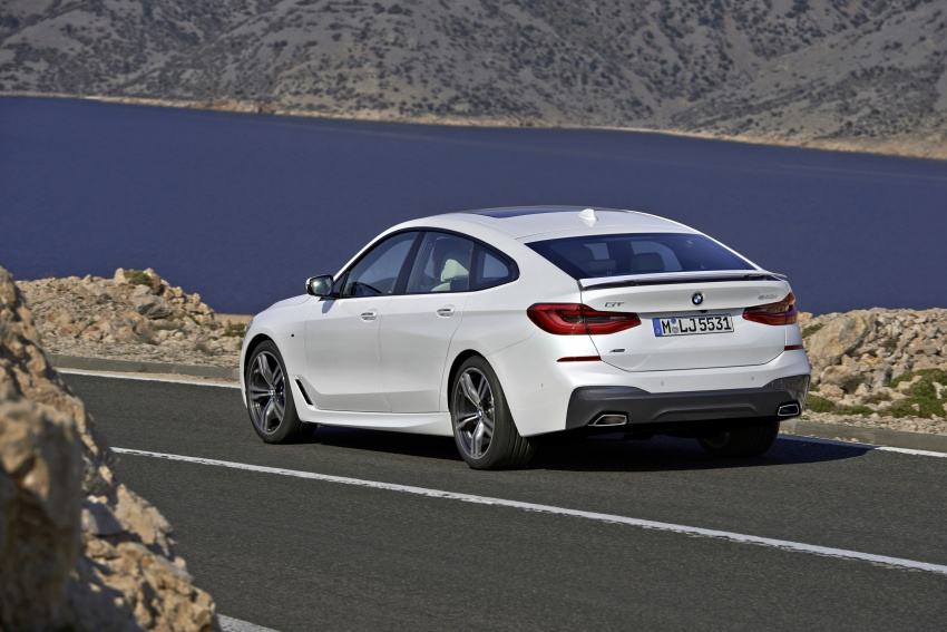 G32 BMW 6 Series Gran Turismo unveiled: more swish Image #672139