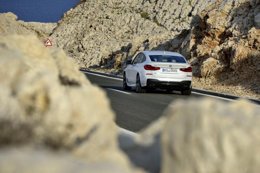 G32 BMW 6 Series Gran Turismo unveiled: more swish Image #672140