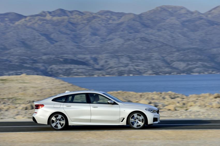 G32 BMW 6 Series Gran Turismo unveiled: more swish Image #672141