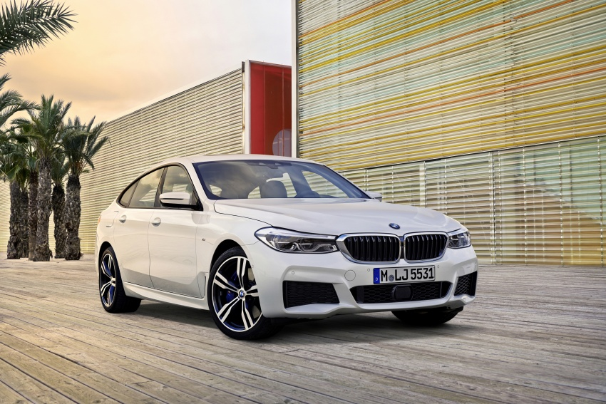 G32 BMW 6 Series Gran Turismo unveiled: more swish Image #672148