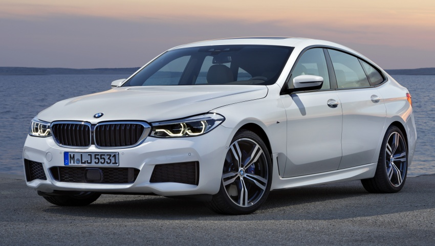 G32 BMW 6 Series Gran Turismo unveiled: more swish Image #672155