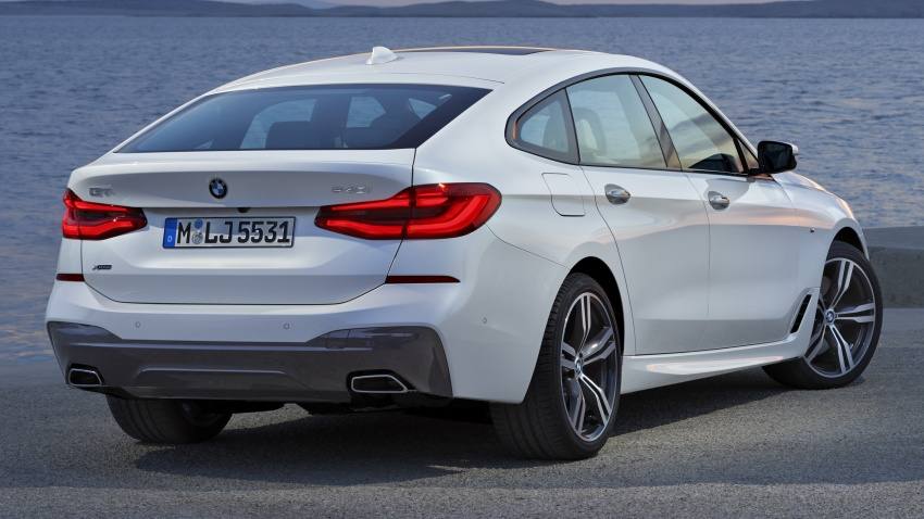 G32 BMW 6 Series Gran Turismo unveiled: more swish Image #672156