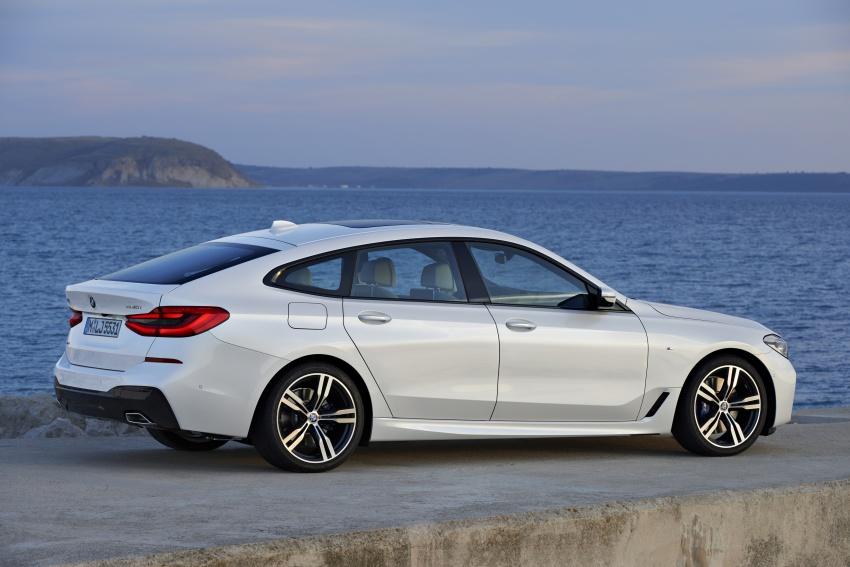 G32 BMW 6 Series Gran Turismo unveiled: more swish Image #672159