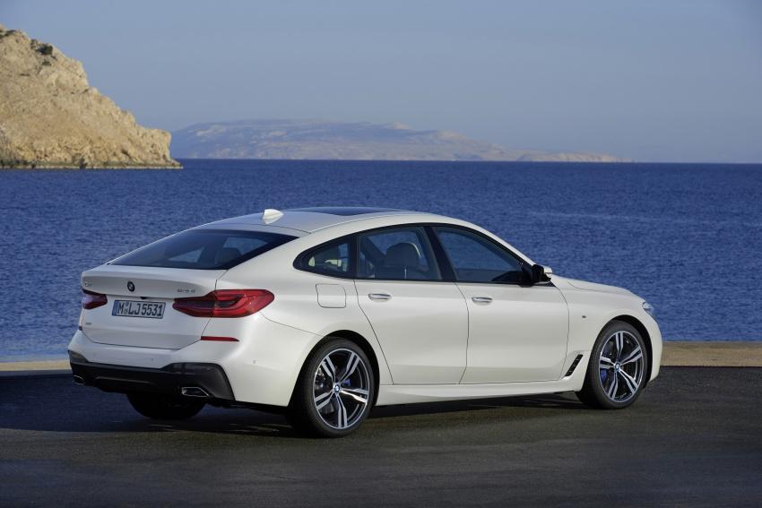 G32 BMW 6 Series Gran Turismo unveiled: more swish Image #672162