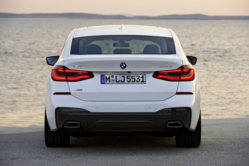 G32 BMW 6 Series Gran Turismo unveiled: more swish Image #672166