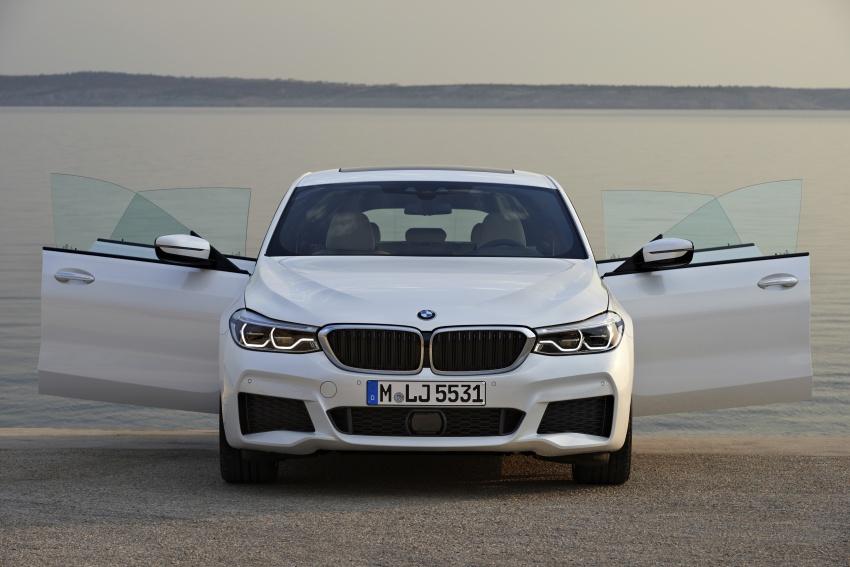 G32 BMW 6 Series Gran Turismo unveiled: more swish Image #672168