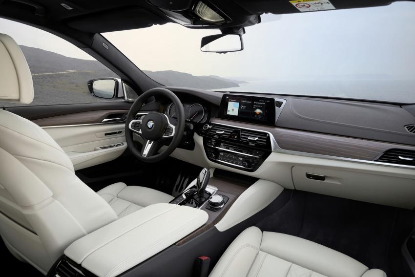 G32 BMW 6 Series Gran Turismo unveiled: more swish Image #672187