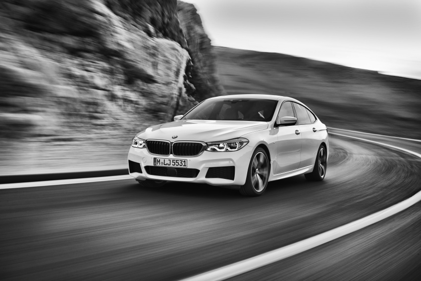 G32 BMW 6 Series Gran Turismo unveiled: more swish Image #672194