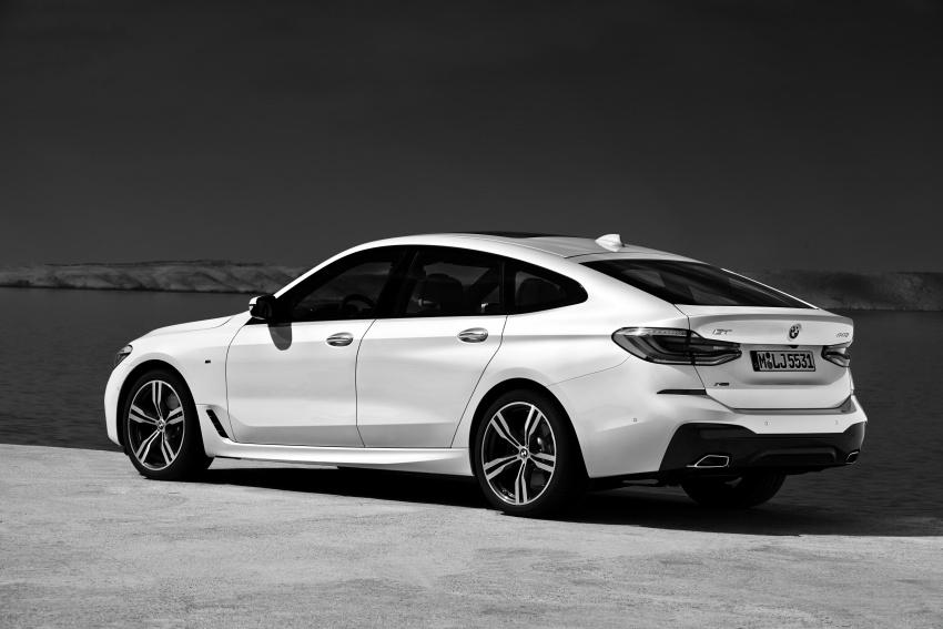 G32 BMW 6 Series Gran Turismo unveiled: more swish Image #672198