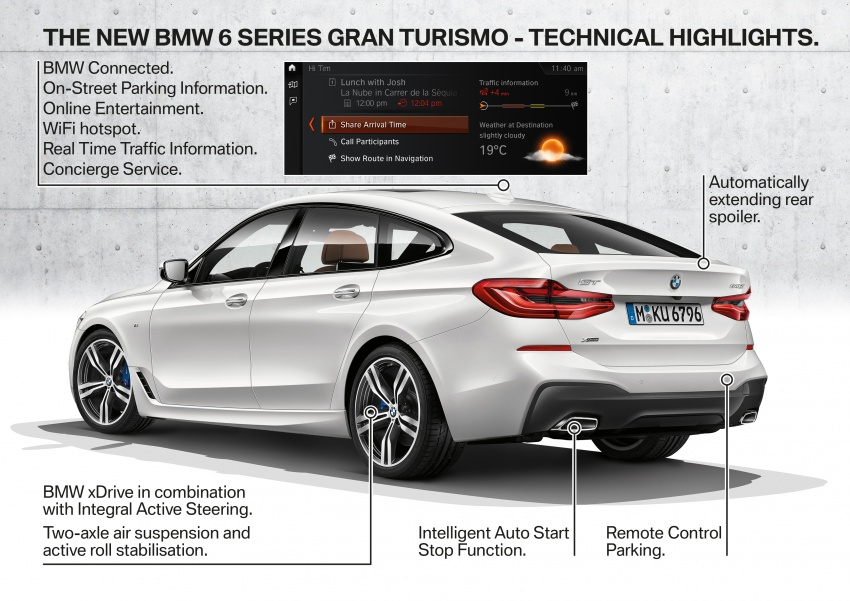 G32 BMW 6 Series Gran Turismo unveiled: more swish Image #672204