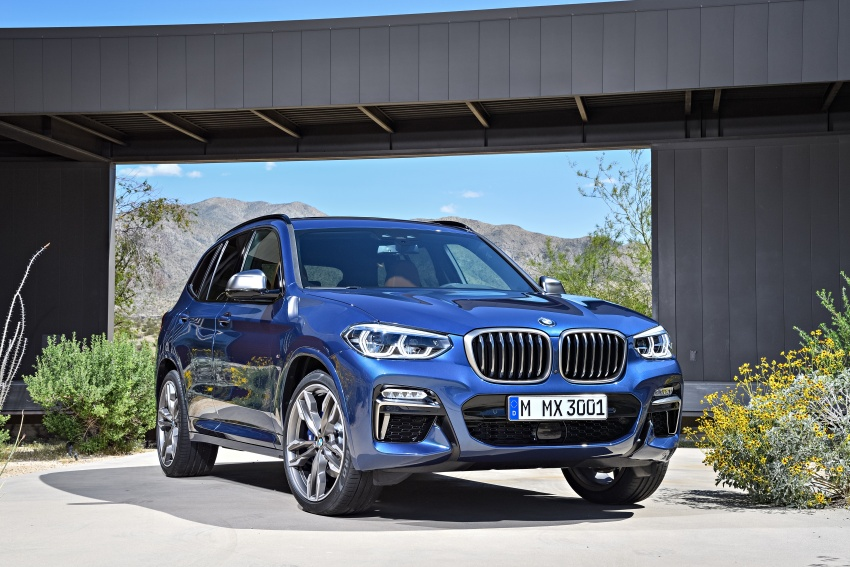 G01 BMW X3 unveiled – new engines, tech, M40i model Image #676954