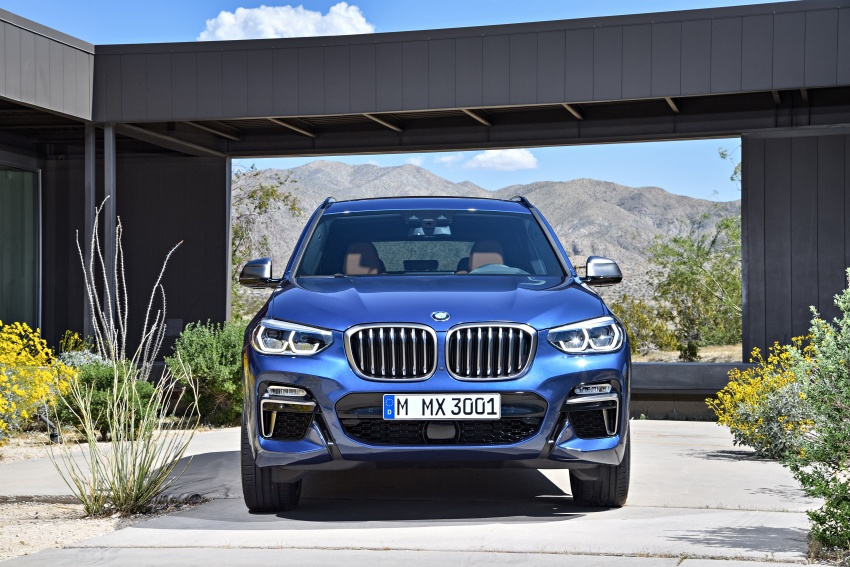 G01 BMW X3 unveiled – new engines, tech, M40i model Image #676955