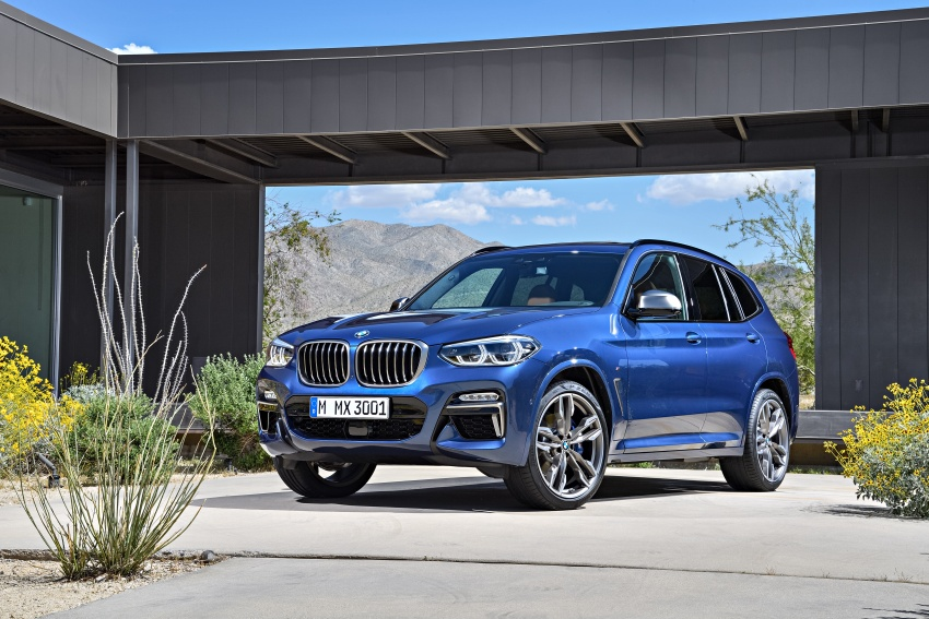 G01 BMW X3 unveiled – new engines, tech, M40i model Image #676956