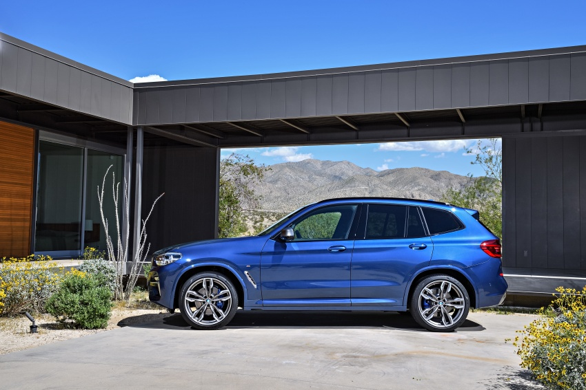G01 BMW X3 unveiled – new engines, tech, M40i model Image #676957