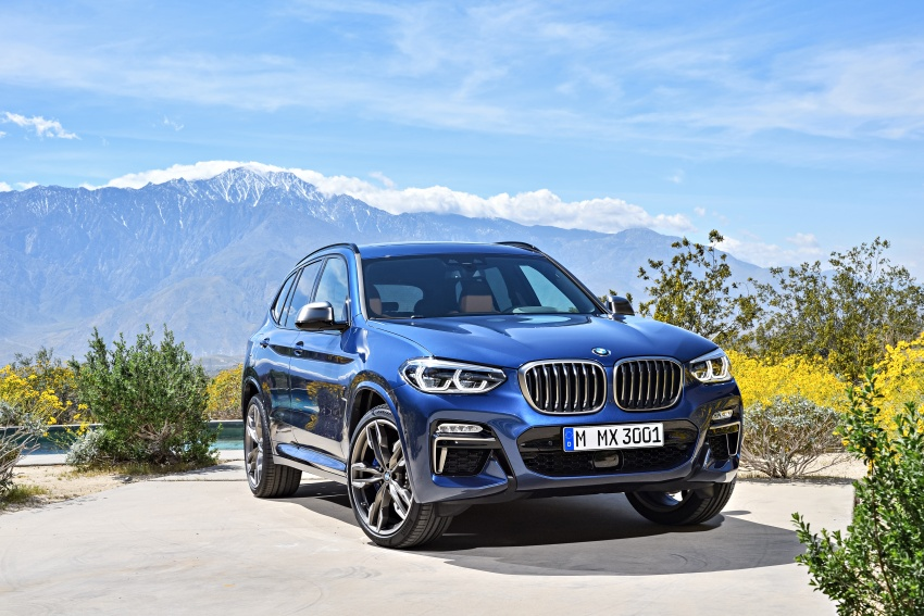 G01 BMW X3 unveiled – new engines, tech, M40i model Image #676958