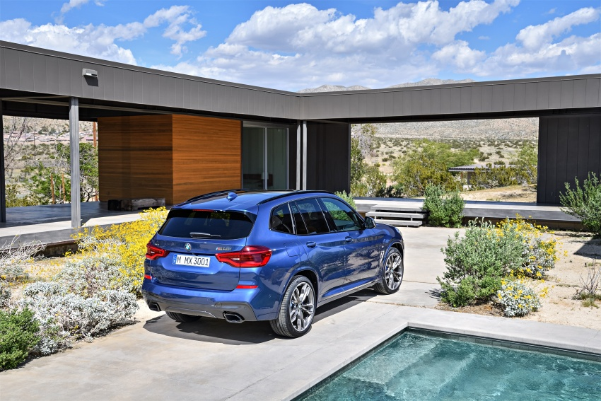 G01 BMW X3 unveiled – new engines, tech, M40i model Image #676960