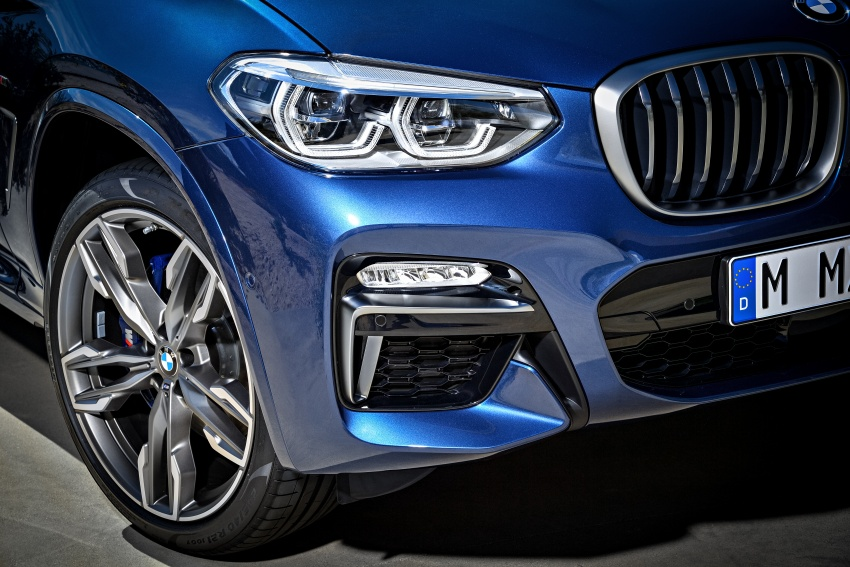 G01 BMW X3 unveiled – new engines, tech, M40i model Image #676961