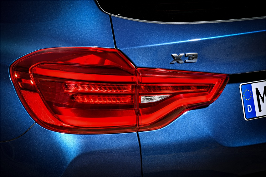 G01 BMW X3 unveiled – new engines, tech, M40i model Image #676967