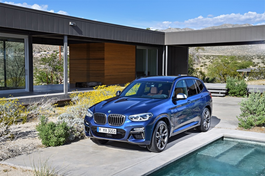 G01 BMW X3 unveiled – new engines, tech, M40i model Image #676968