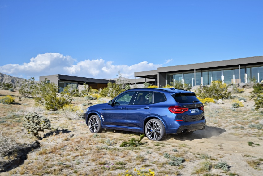 G01 BMW X3 unveiled – new engines, tech, M40i model Image #676969