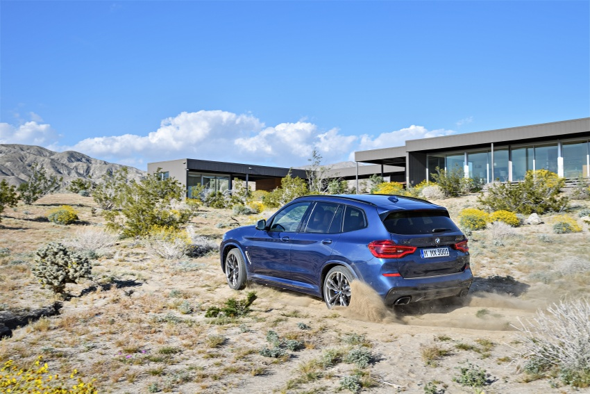 G01 BMW X3 unveiled – new engines, tech, M40i model Image #676970