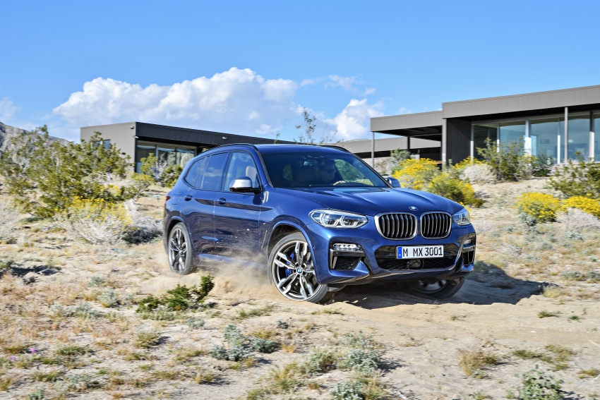 G01 BMW X3 unveiled – new engines, tech, M40i model Image #676971