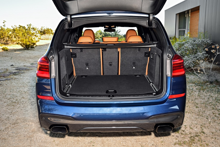 G01 BMW X3 unveiled – new engines, tech, M40i model Image #676972