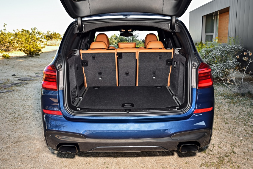 G01 BMW X3 unveiled – new engines, tech, M40i model Image #676976