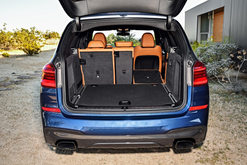 G01 BMW X3 unveiled – new engines, tech, M40i model Image #676981