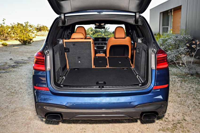 G01 BMW X3 unveiled – new engines, tech, M40i model Image #676985