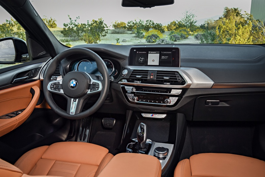 G01 BMW X3 unveiled – new engines, tech, M40i model Image #676991
