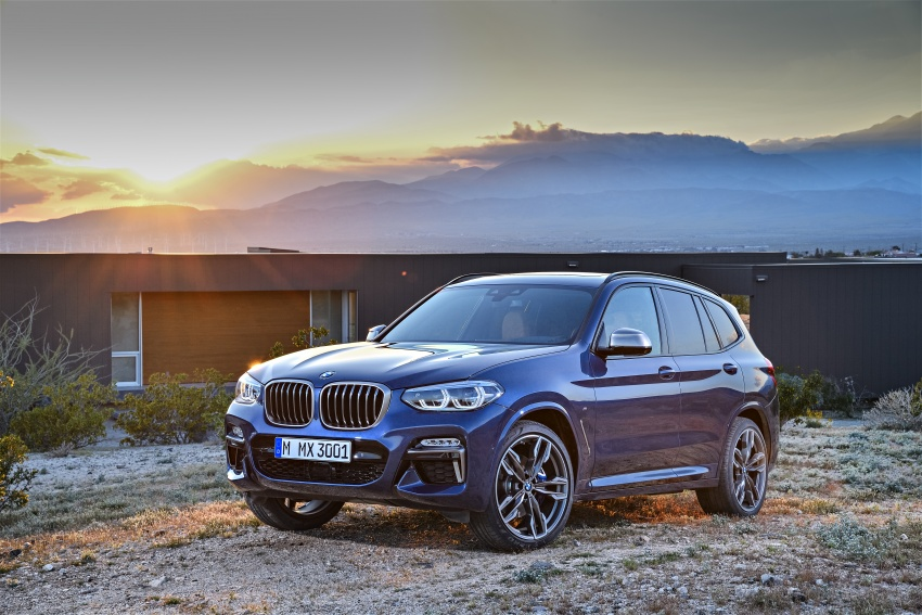 G01 BMW X3 unveiled – new engines, tech, M40i model Image #677000