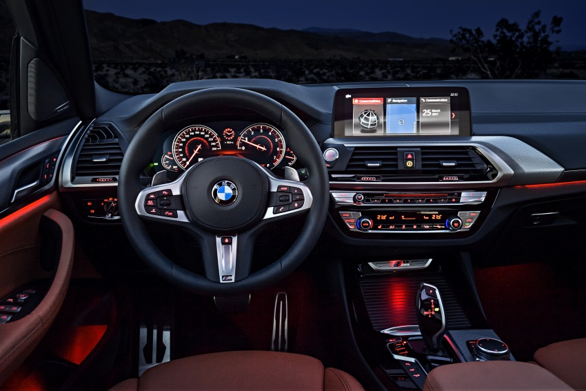 G01 BMW X3 unveiled – new engines, tech, M40i model Image #677003
