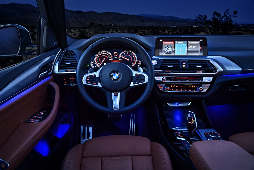 G01 BMW X3 unveiled – new engines, tech, M40i model Image #677005