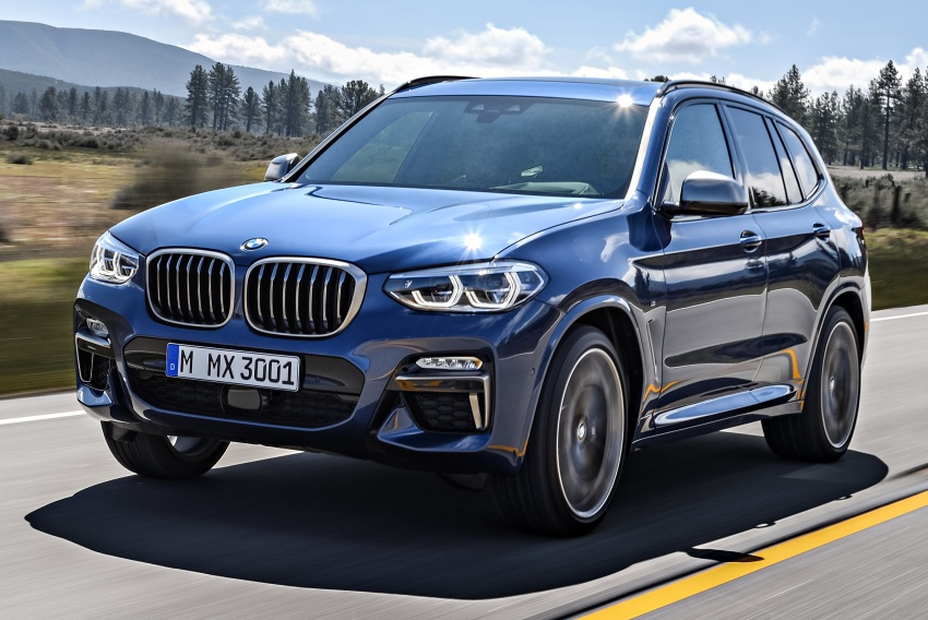 G01 BMW X3 unveiled – new engines, tech, M40i model Image #677007