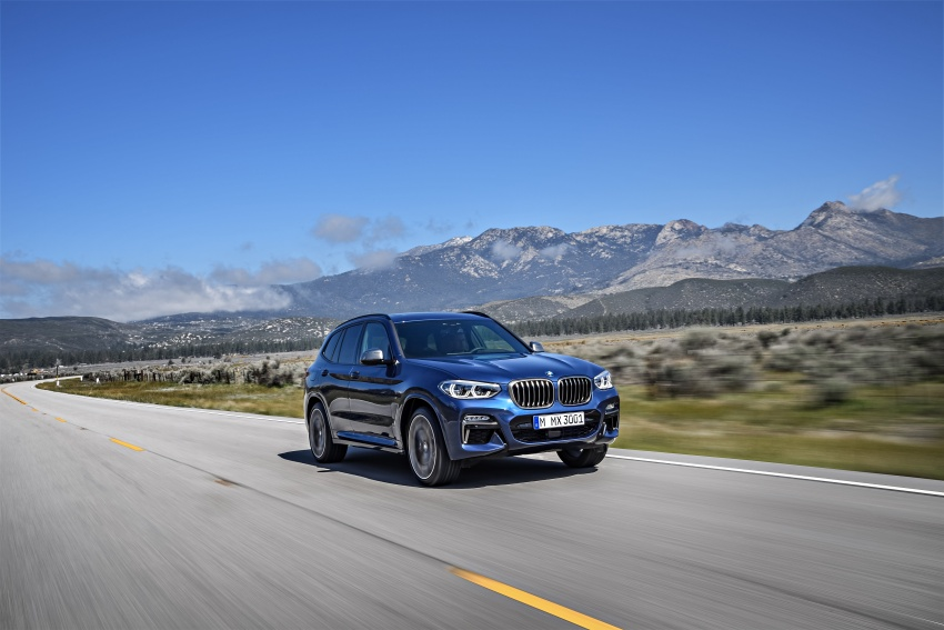 G01 BMW X3 unveiled – new engines, tech, M40i model Image #677008