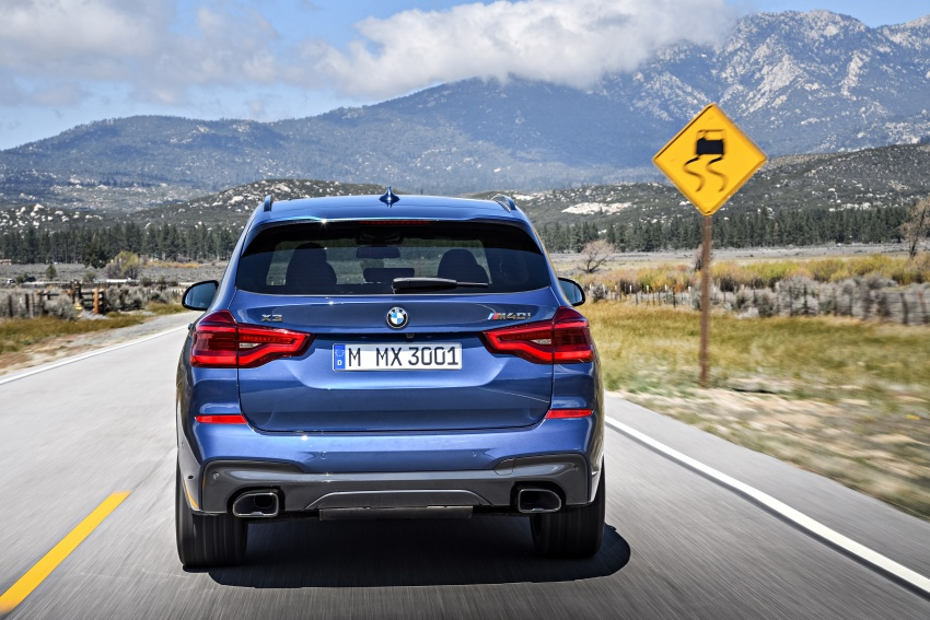 G01 BMW X3 unveiled – new engines, tech, M40i model Image #677009