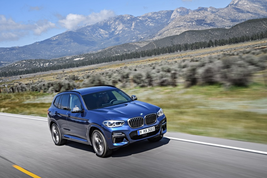 G01 BMW X3 unveiled – new engines, tech, M40i model Image #677010