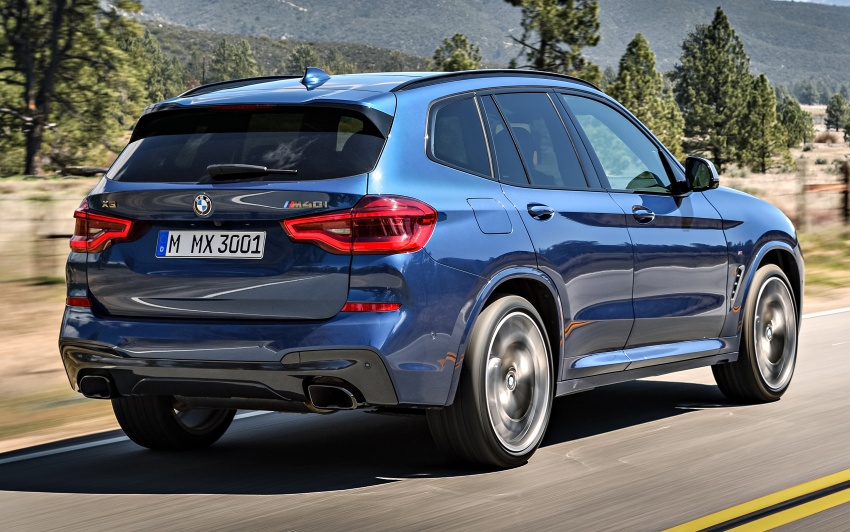 G01 BMW X3 unveiled – new engines, tech, M40i model Image #677012