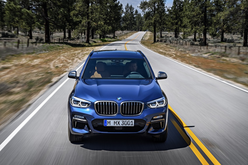 G01 BMW X3 unveiled – new engines, tech, M40i model Image #677014