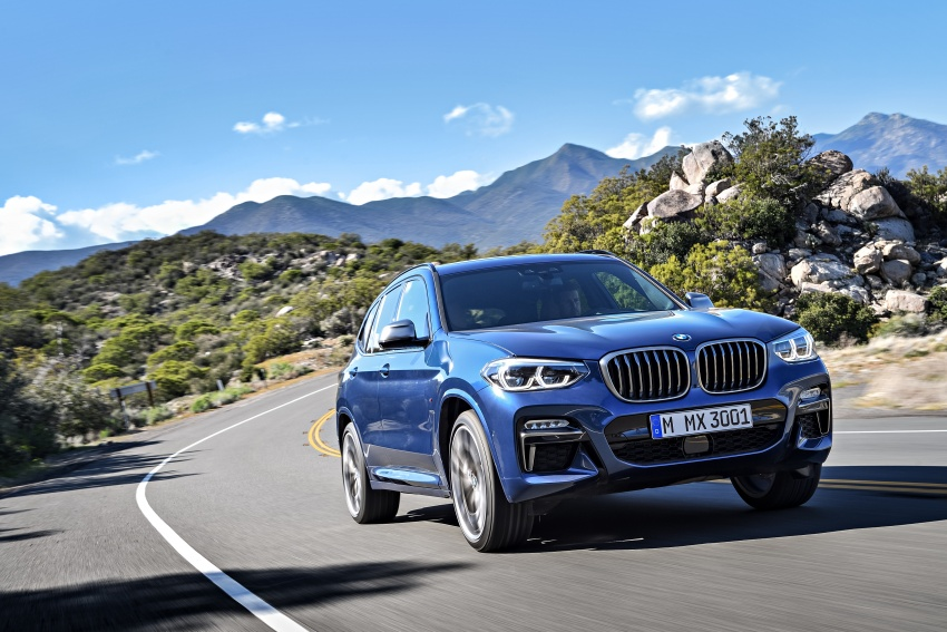 G01 BMW X3 unveiled – new engines, tech, M40i model Image #677016
