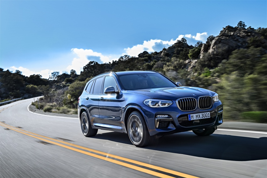 G01 BMW X3 unveiled – new engines, tech, M40i model Image #677017