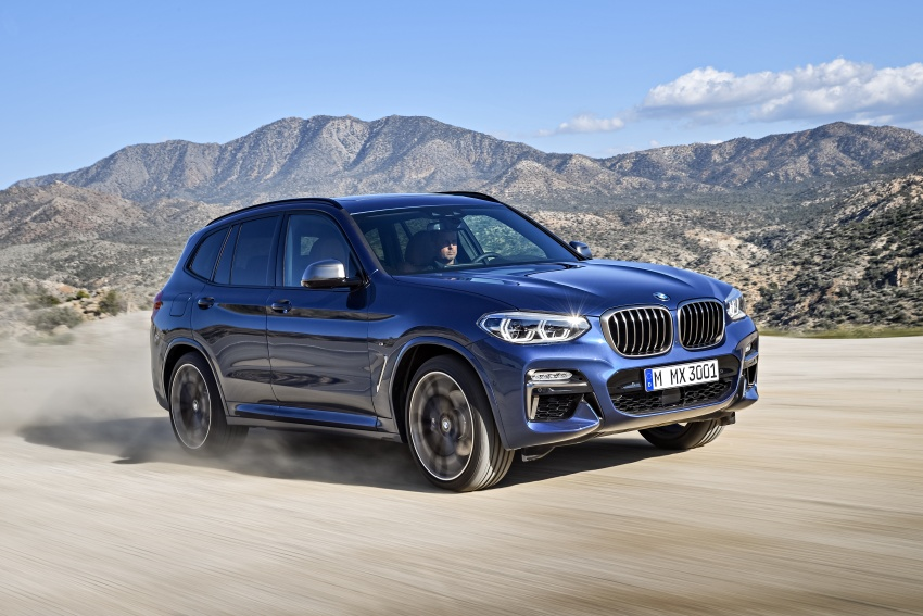 G01 BMW X3 unveiled – new engines, tech, M40i model Image #677018