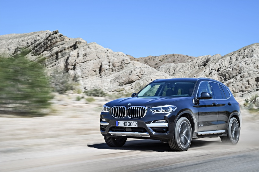 G01 BMW X3 unveiled – new engines, tech, M40i model Image #677021