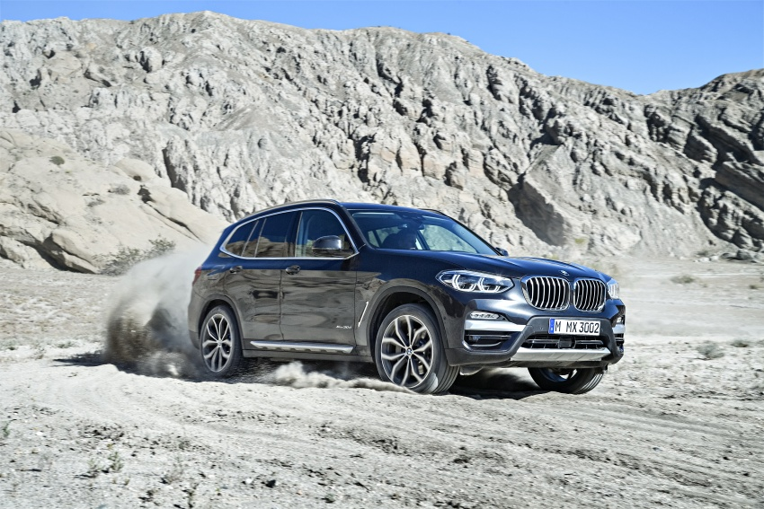 G01 BMW X3 unveiled – new engines, tech, M40i model Image #677022