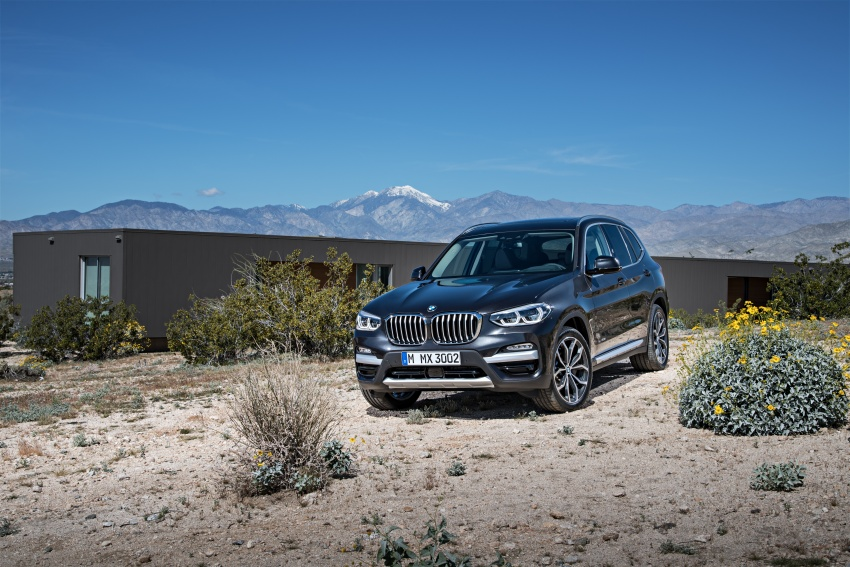 G01 BMW X3 unveiled – new engines, tech, M40i model Image #677025