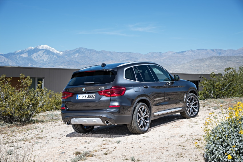 G01 BMW X3 unveiled – new engines, tech, M40i model Image #677026
